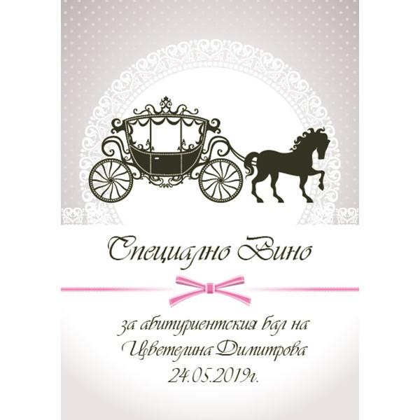 Етикети за абитуриентско вино 04 (8 бр.)