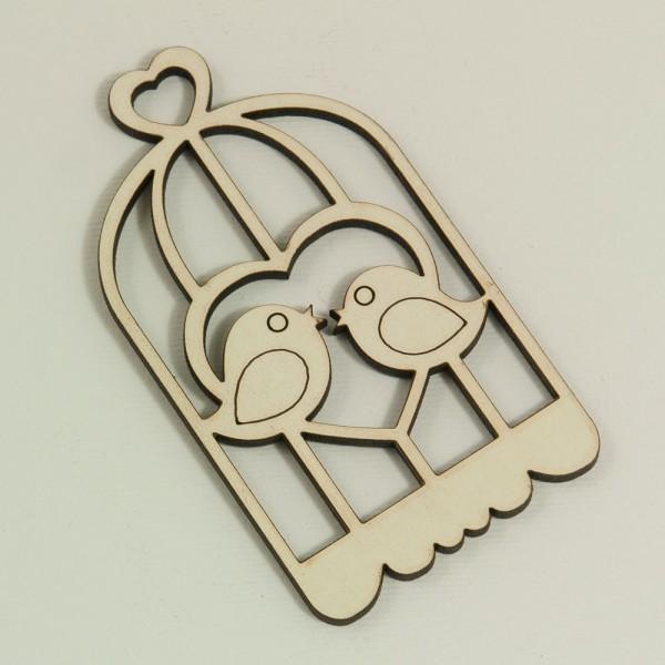 Фигурка Клетка за птици