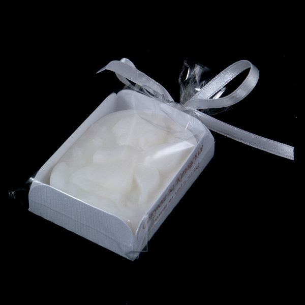 Сапун за кръщене бял