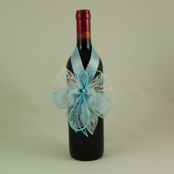 Украса за кръщелно вино 07