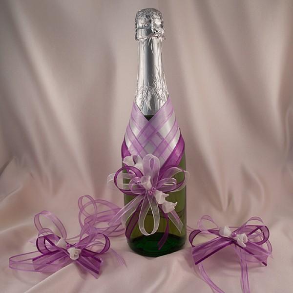 Украса за шампанско и чаши 23