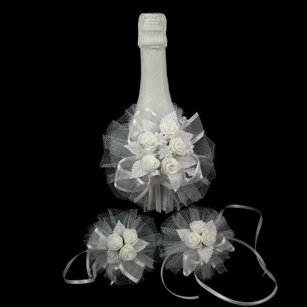 Украса за шампанско и чаши Д01