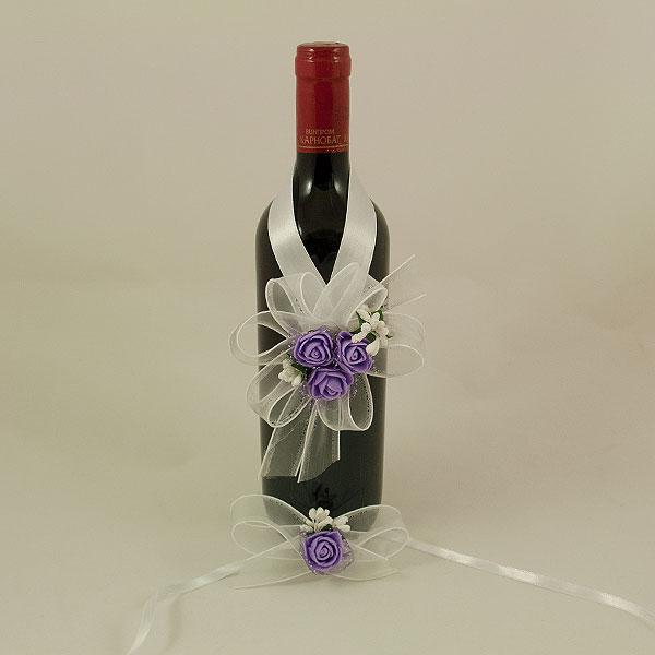 Украса за вино и бокал 01