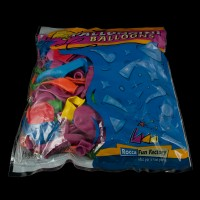 Цветни балони микс - 100 бр
