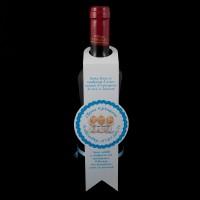 Украса за кръщелно вино 02